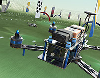 F.P.V. DRONE RACERS