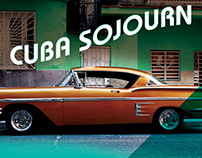 Cuba Sojourn Exhibition Invitation Poster