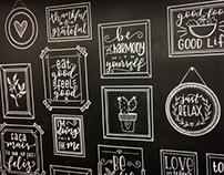 Painel Chalkboard para Espaço Volpi