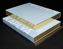 Book Design / Editorial Design Kaplya / Капля