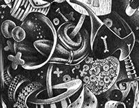 Illustrations for LEVSHA DESIGN DIARY