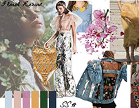 Trend board SS'18 for Fast fashion brands