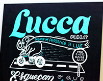 Lucca | Lousa + Posca