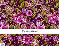 Paisley Floral Textile Design