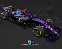 Re:Imagined - Simtek Ford S941 Livery
