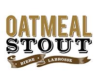 Oatmeal Stout - Beer Logo