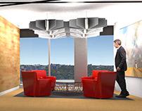 Interior Design: Canadian Tire Boardroom & Lounge
