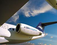 AlpiEagles compagnia aerea
