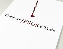 Capa do livro – Conhecer Jesus é Tudo
