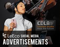 LeEco - Social Media Advertisements