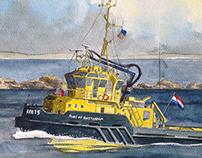 Rotterdam Tugboat 15