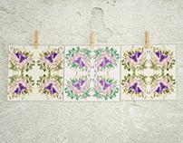 Flower Kaleidoscope collection