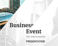 Business Event Powerpoint Template