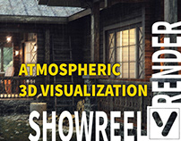 Atmospheric 3d visualization | Showreel