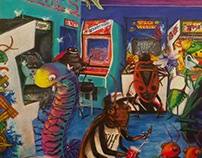 The Blinking Bug Arcade: Insect Infested 80's Arcade