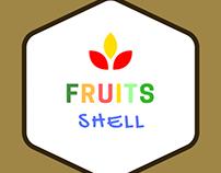 Fruits shell dash delish - Logo