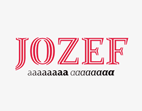 Jozef typeface family
