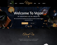 Vojon - Restaurant WordPress Theme