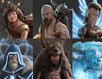 Norse characters