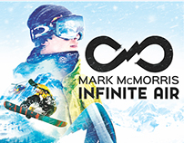 Mark McMorris Infinite Air Key Art Design