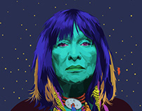 Portraits of Colorful Sheroes