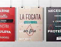 La Fogata - Rebrand