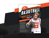 Free Basketball Flyer in PSD