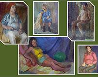 Figure & Half-figure Compositions In Colour /Etudes/