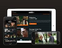 SundanceTV Mobile & Tablet Application