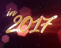 New Year Wishes | 3D Logo Text, After Effects Templates