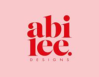 Abi Lee Designs - Personal Branding