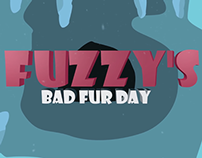 Fuzzy's bad fur day