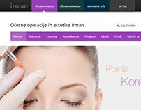 Oculist website design