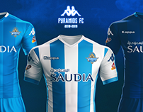 Pyramids FC Brand Identity