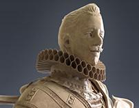 Zbrush Sculpture: Philip The Third