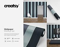 Wallpaper Mockup Set