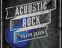 Rock Night Flyer Template