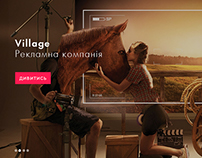 """LANDING PAGE_for advertising agency """"YASNO"""""""