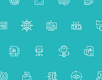 icons for departments of analytical center