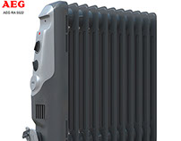 Modeling and visualization of the radiator Aeg ra 5522