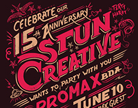 Stun Creative Party Invite
