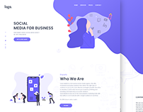 Landing Page For Marketing Agency (Freebie)
