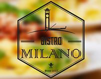 Identidade Visual Bistro Milano