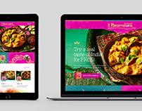 Parampara - responsive web design
