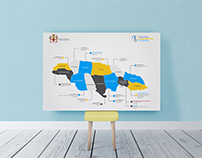 Ministry of Youth Jamaica Map, Press Info & Branding