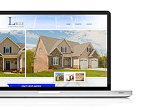 Brent Lilly Construction Website