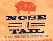 Nose to Tail Beer Dinner