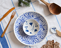 Hasami Yaki porcelain