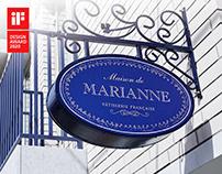 MAISON DE MARIANNE- Brand Identity
