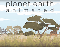 Planet Earth - 2d animation